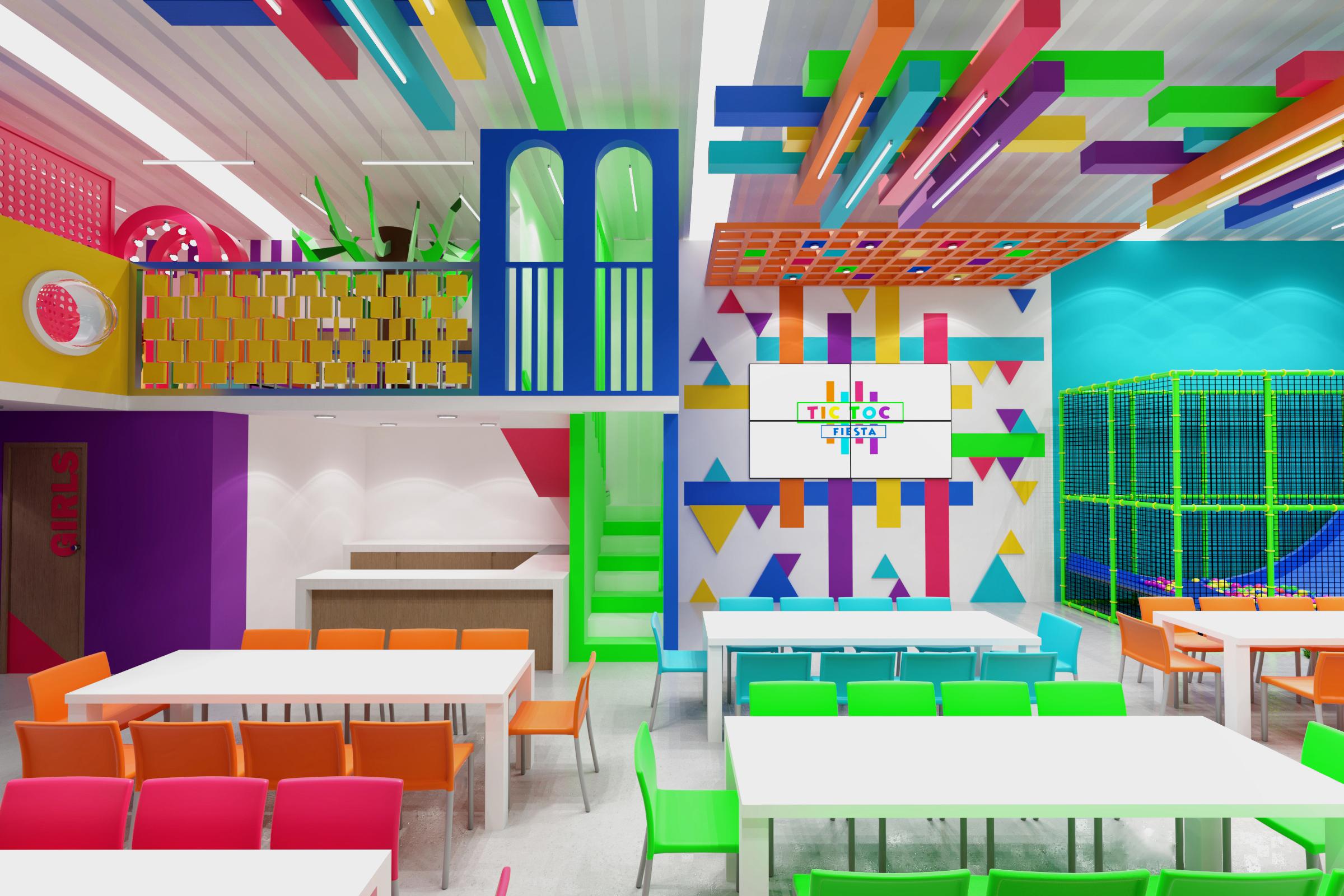 Diseño comercial, salon de Fiestas